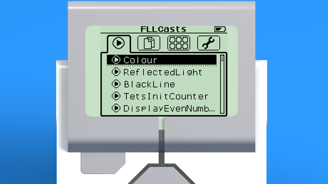 Image for Naming programs in the EV3-G software