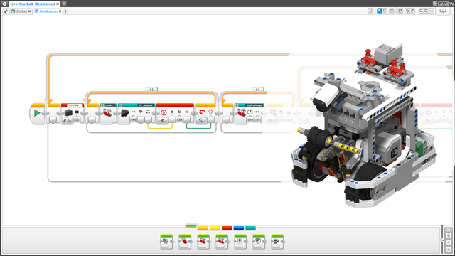Image for WRO Football EV3 LEGO Mindstorms Project