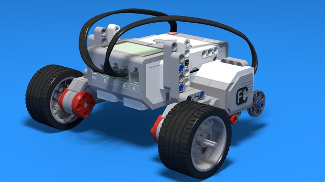 Image for Level A1. Introduction. Robotics with LEGO