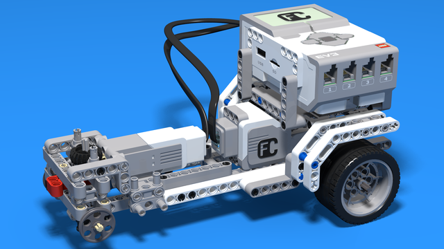 Image for Драгстър - LEGO Mindstorms EV3 car