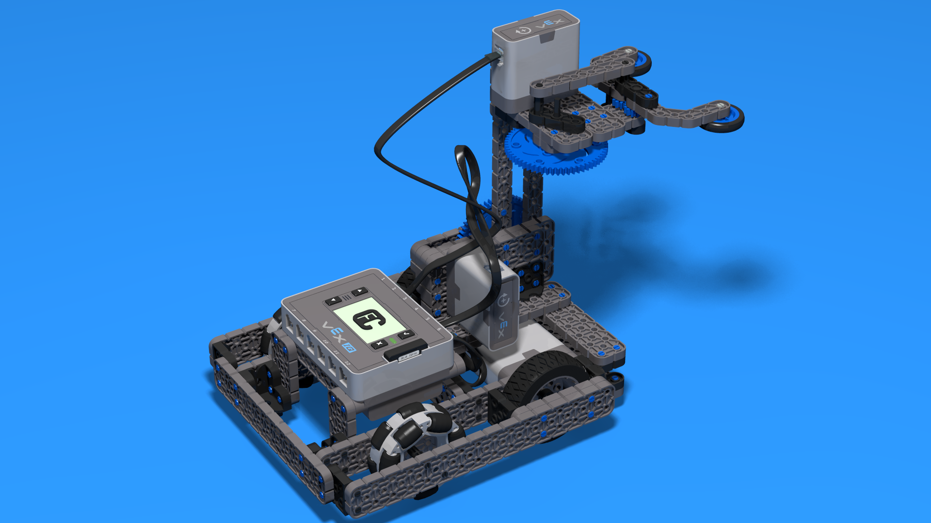 FLLCasts | Pesho Bot With Two Bars Lifting Mechanism from VEX IQ