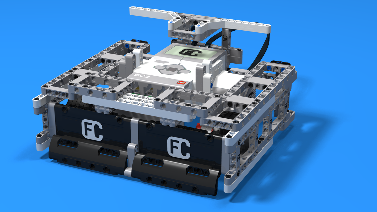 Image for Squmo - LEGO Mindstorms EV3 short square sumo robot