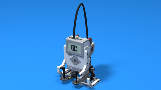 Image for The snow walker - LEGO Mindstorms EV3 robot with snowshoes