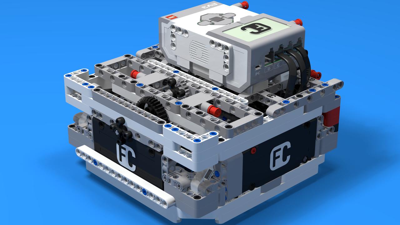 """Image for """"Box"""" робот 2 за състезания ЛЕГО Mindstorms"""
