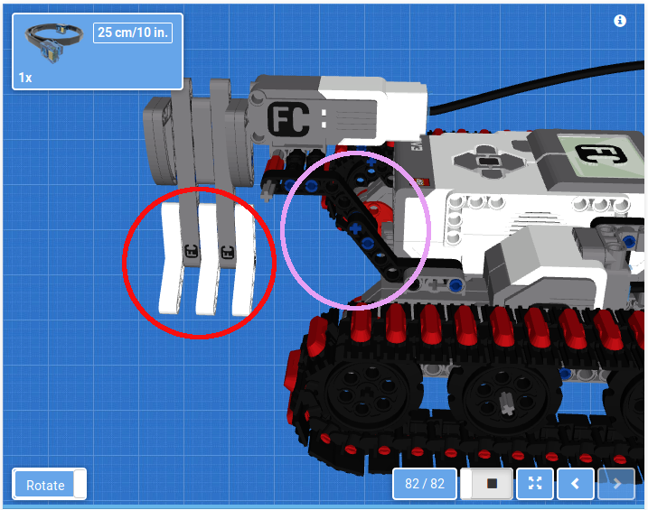 Picture of wrong parts