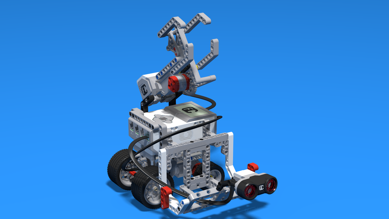 Image for Mintonet - a LEGO Volleyball robot