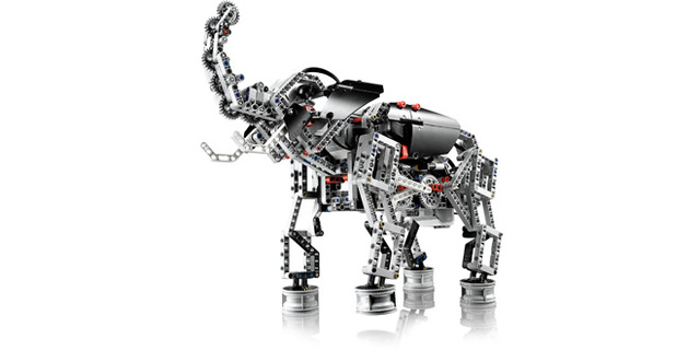 Image for Elephant - LEGO Mindstorms EV3 robot that looks like an elephant.