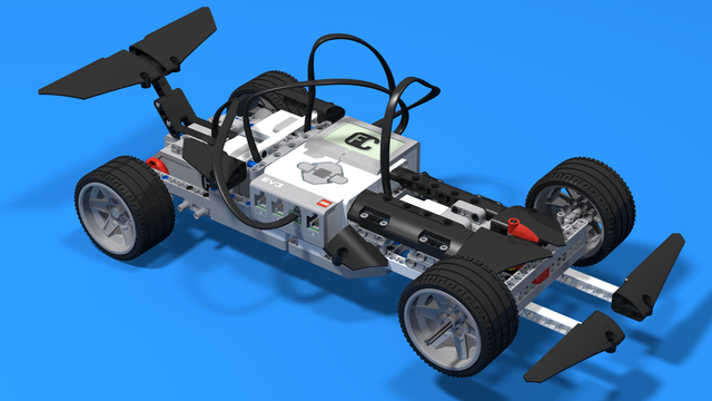 Image for Comet - a LEGO Mindstorms EV3 Formula 1 Racing Car