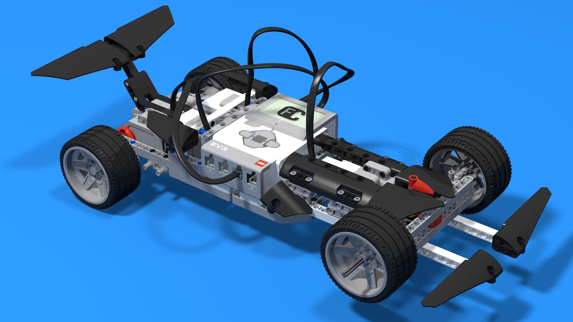 Fllcasts Comet A Lego Mindstorms Ev3 Formula 1 Racing Car