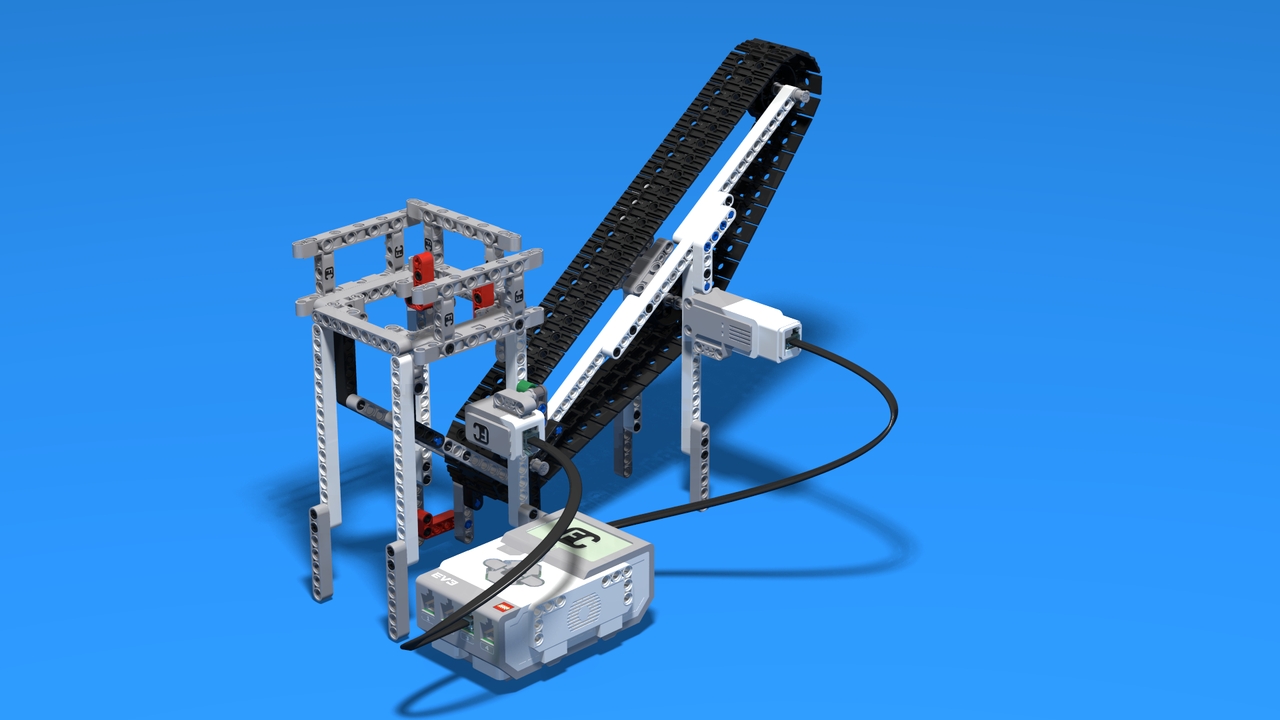 Image for Whitiki - a LEGO Mindstorms EV3 plastic sorting robot