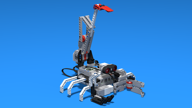 Image for Antares - a simple LEGO Mindstorms EV3 Scorpion robot