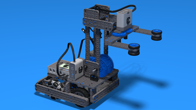 Image for Roberto Bot With Four Bars Lifting Mechanism