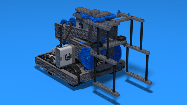 Image for Sports Chassis With Eight Bar Lifting Mechanism - VEX IQ Robot