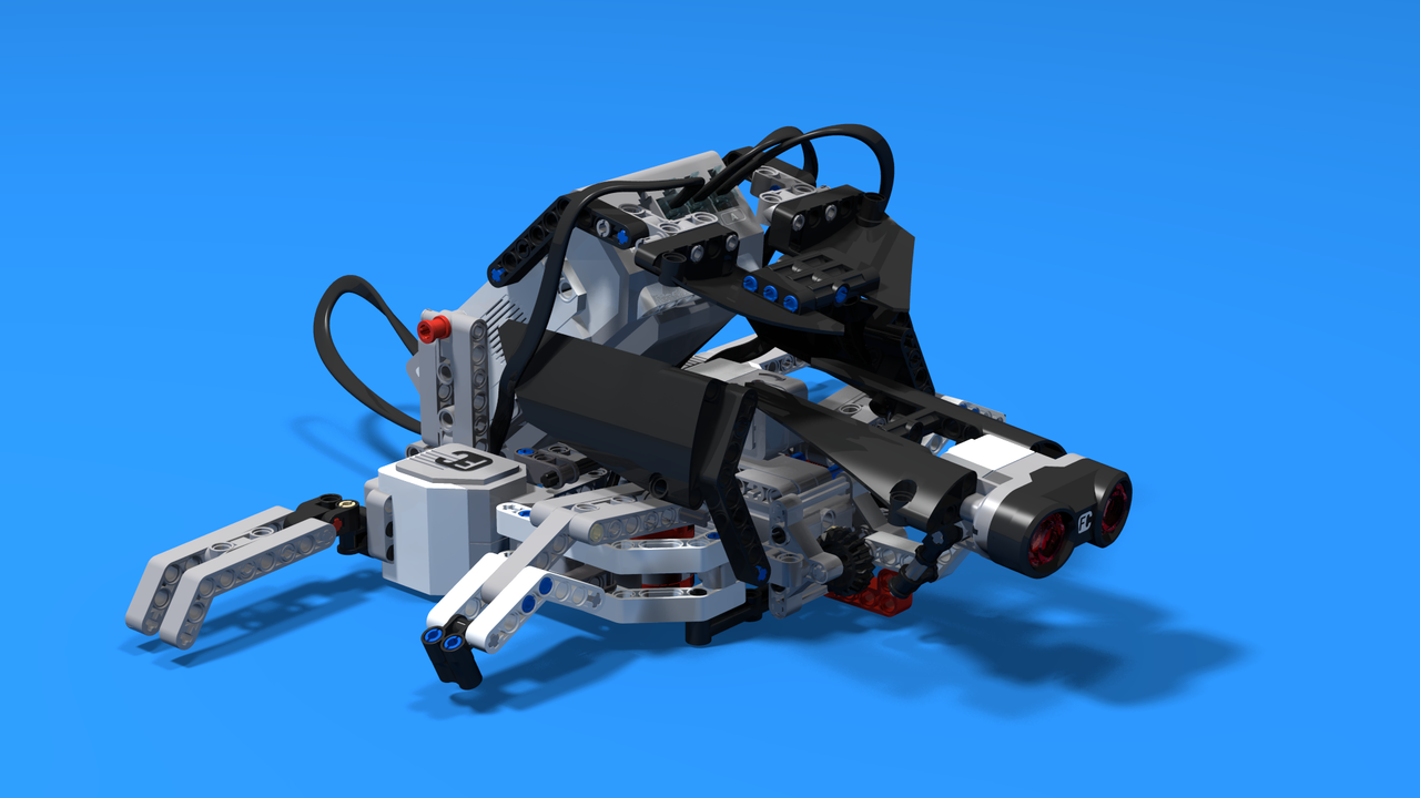 Image for 7UR7L, the direction following turtle robot, built with LEGO Mindstorms EV3