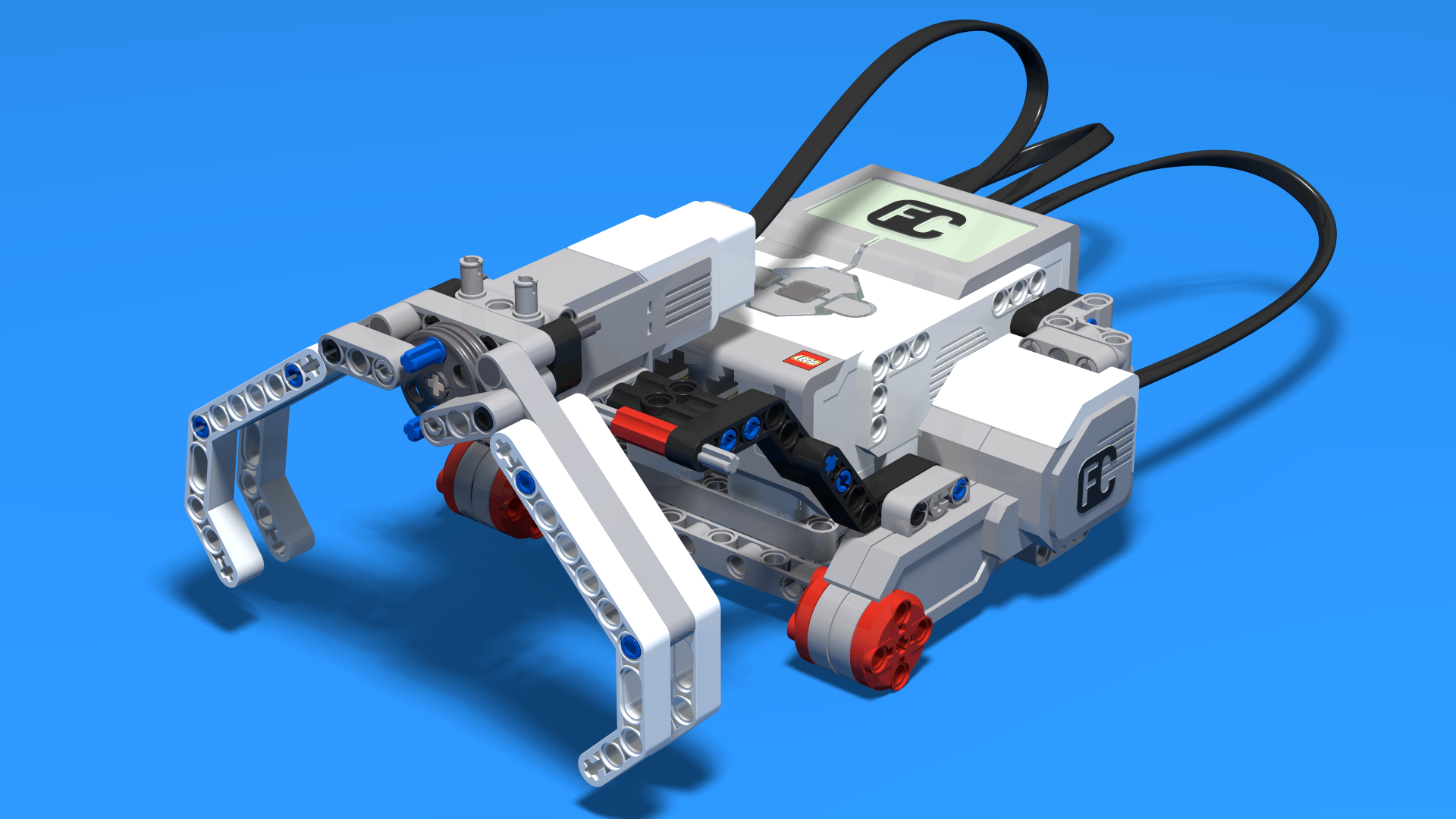 Fllcasts Earl Bot Grabbing And Clearing Lego