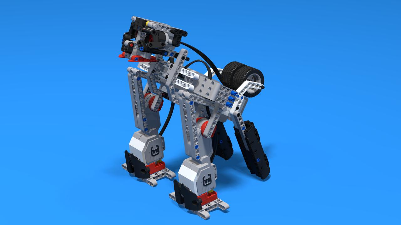 Image for GorillaBot, a LEGO Mindstorms EV3 gorilla robot