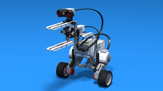 Image for Lintu - a LEGO Mindstorms EV3 Kiwi bird robot