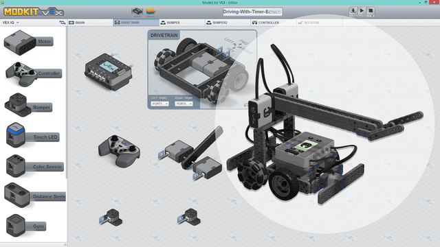 Advanced-Truckie-Easy-To-Drive-Advanced-Vex-Iq-Program-For-Modkit-Fllcast
