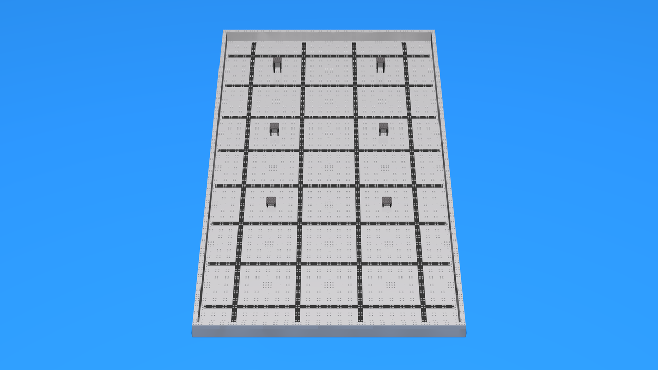 Image for VEX Field for Training Driver Skills - Multi Player Mode