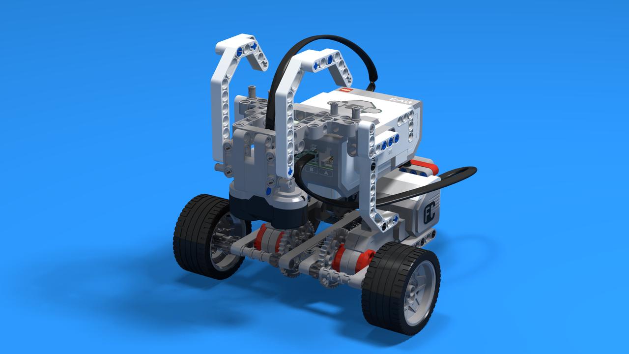 Image for Hrutur - a LEGO Mindstorms EV3 Ram robot