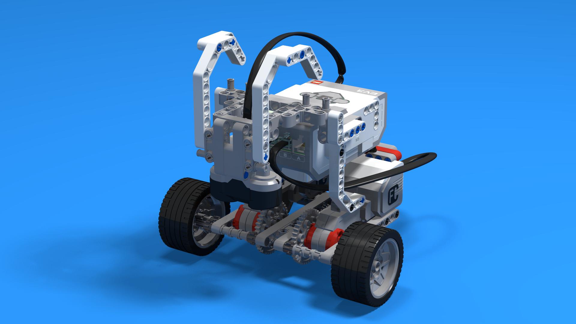 Hrutur - a LEGO Mindstorms EV3 Ram robot