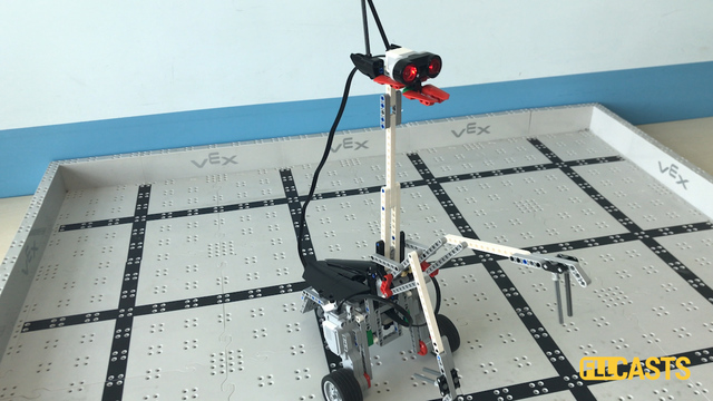 Image for How does the Mantissa LEGO Mindstorms EV3 robot work?