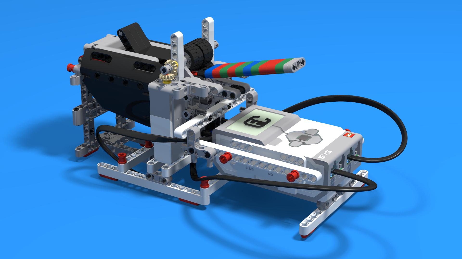 FLLCasts   Geldautomaat, a LEGO Mindstorms EV3 ATM robot