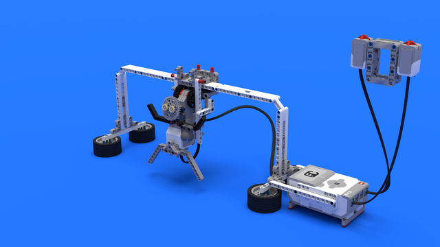 Image for Fint, a LEGO Mindstorms EV3 goalkeeper robot