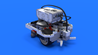 Image for Cole - LEGO Mindstorms EV3 robot base with a frame