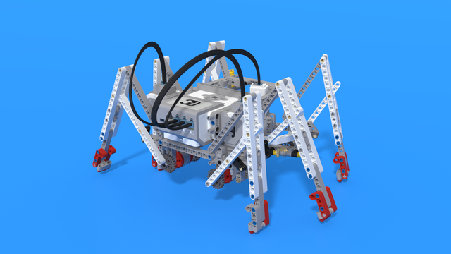 Image for Sebastian, a crab robot, built with LEGO Mindstorms EV3