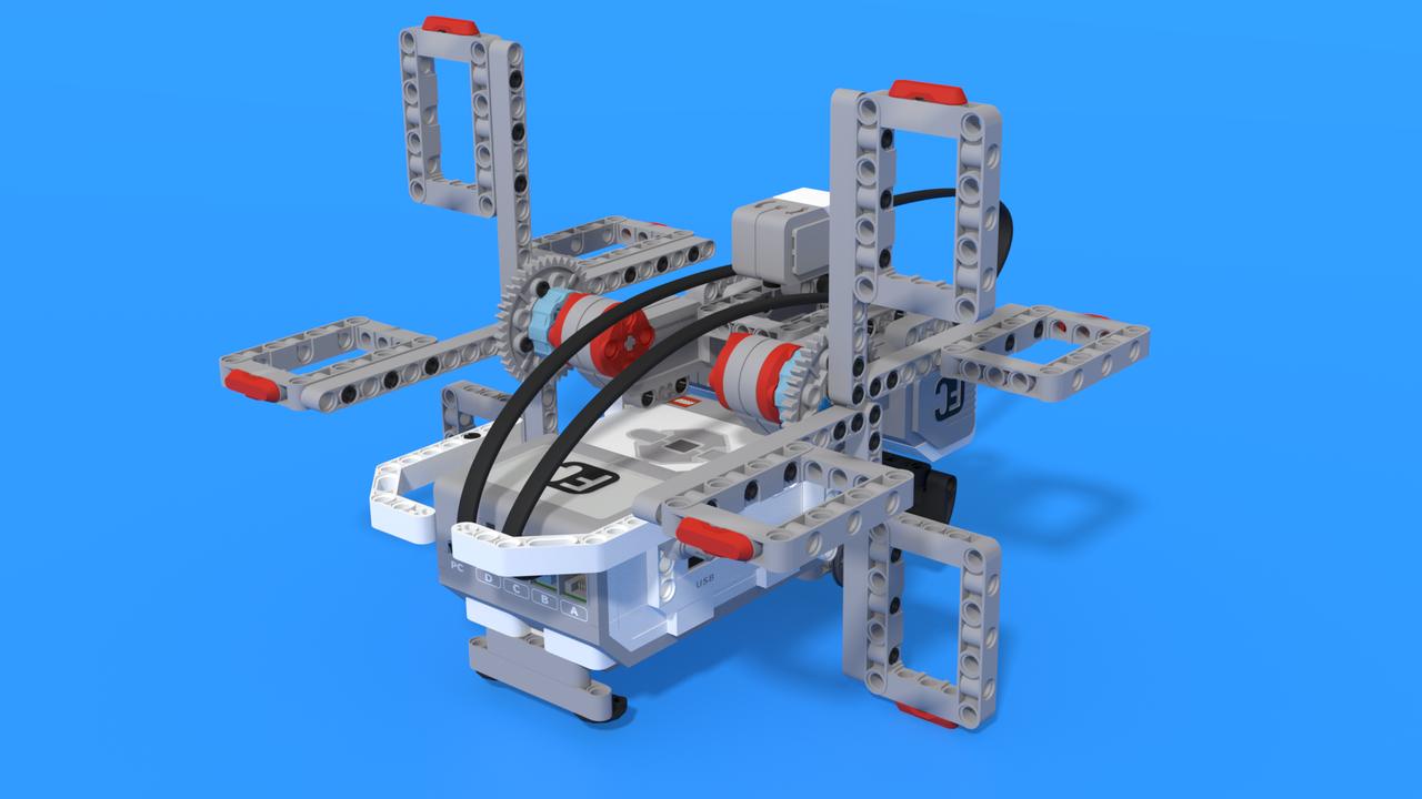 Image for Gen - LEGO Mindstorms EV3 pedalo robot