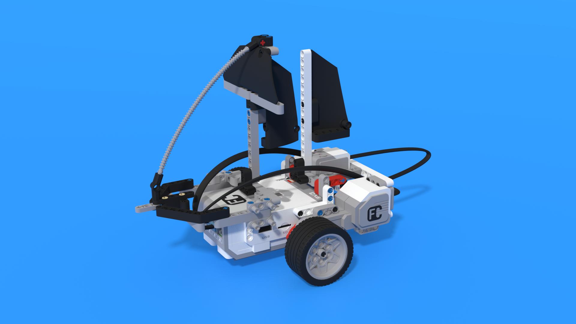 Barco - LEGO Mindstorms EV3 sailboat robot