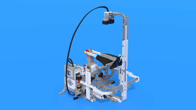 Image for Laboratory, a LEGO Mindstorms EV3 experiment robot