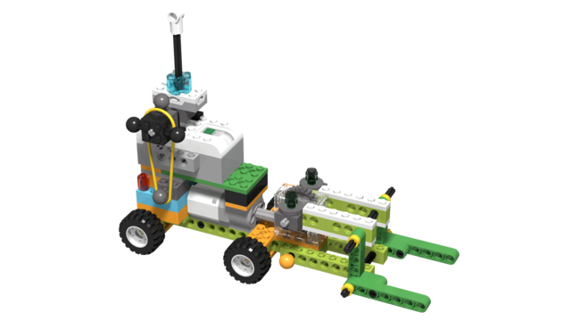 Image for Forklift, built with LEGO WeDo 2.0