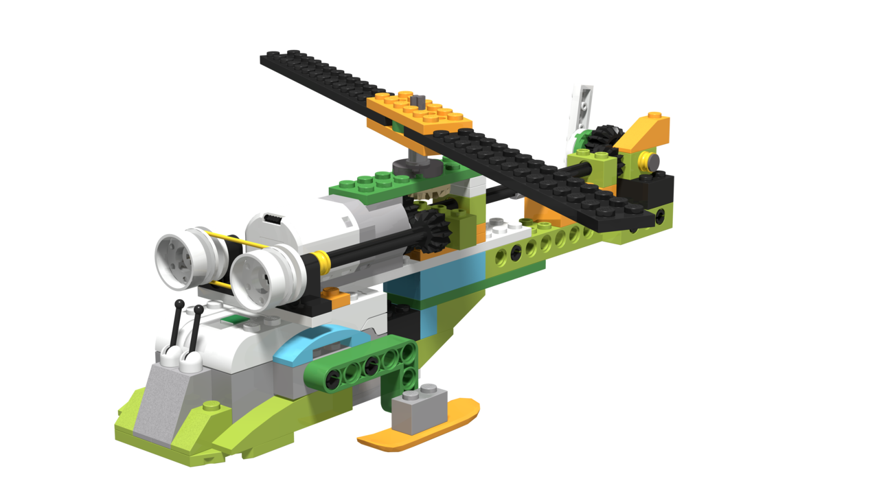 Image for Helicopter, built with LEGO WeDo 2.0