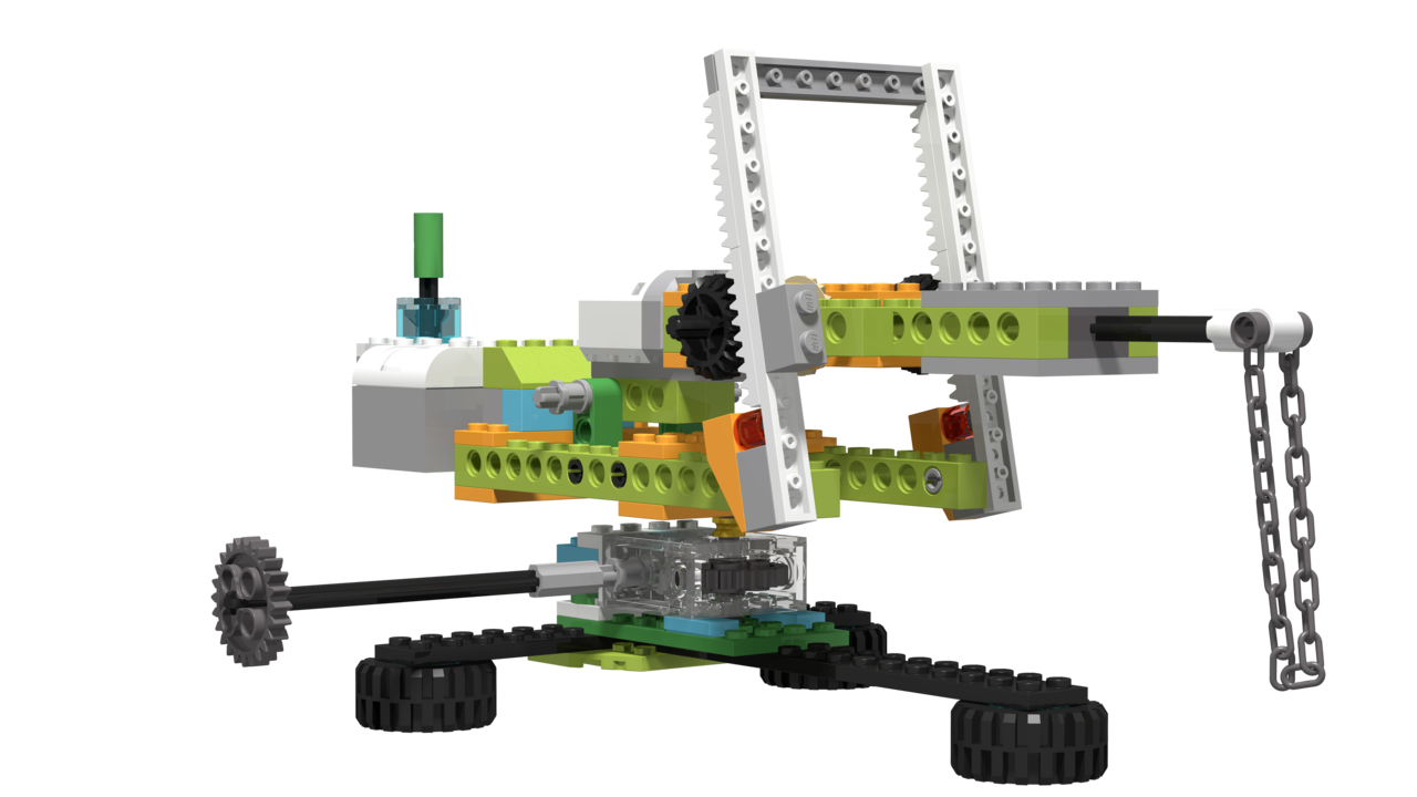 Image for Workshop Crane, built with LEGO WeDo 2.0
