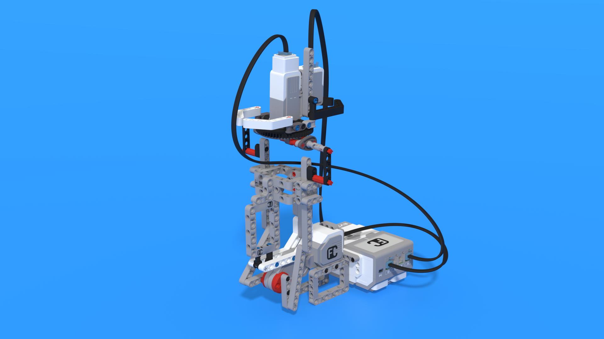 Uylam - LEGO Mindstorms EV3 Steamship simulator robot