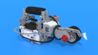 Image for Rollbar, a LEGO Mindstorms EV3 distance measuring robot