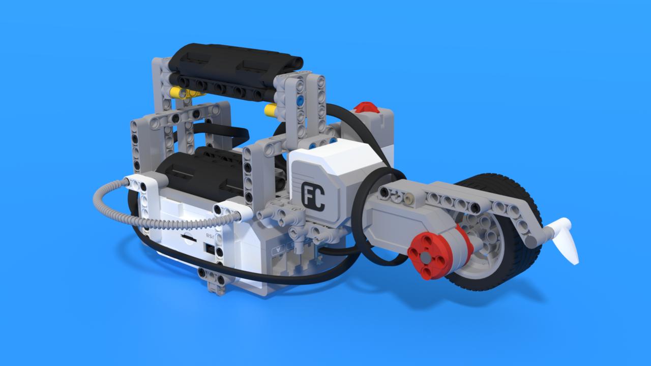Image for Rollbar, a LEGO Mindstorms EV3 distance measuring robot