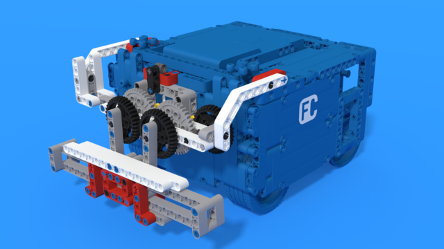 Image for FLL 2018: Lifter - an attachment for SUV Box Robot and Into Orbits M09–Strength Exercise