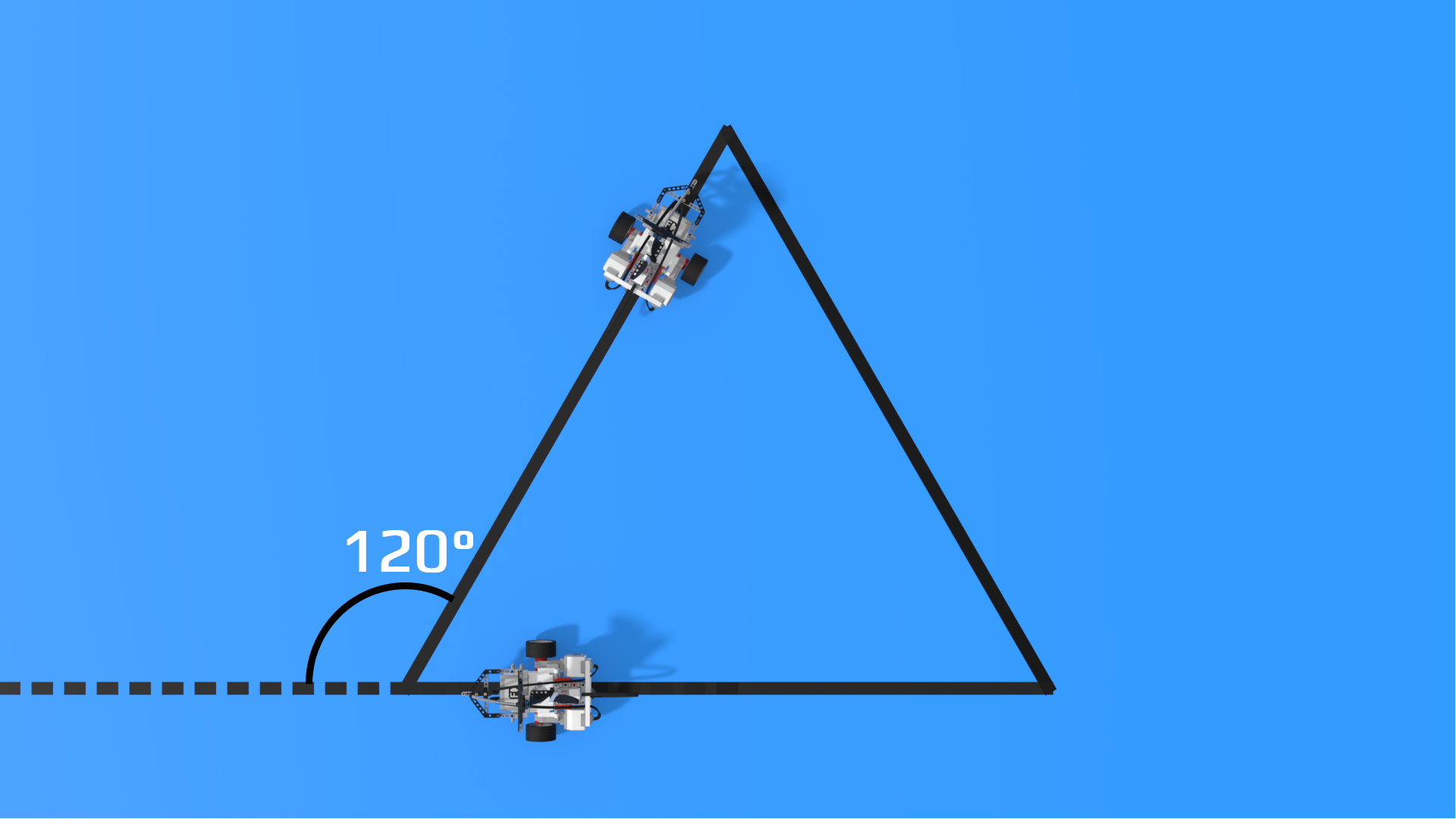 Image explaining outer angle in triangle