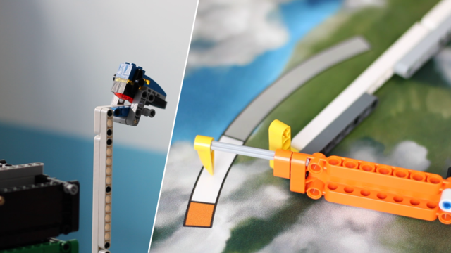 Image for FLL 2018: Mission run of M11, M13 (push, push up) in FIRST LEGO League 2018 Into Orbit. Review