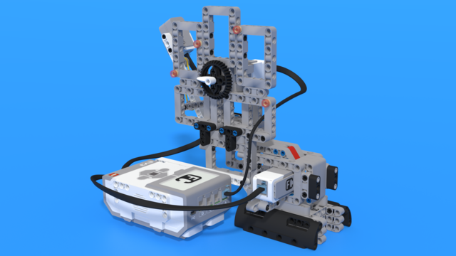 Image for Scrooge McRobot - LEGO Mindstorms EV3 coin counting robot