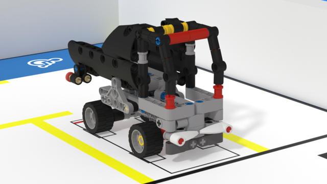 Image for Truck mission model. FLLCasts Off-season Challenge 2019