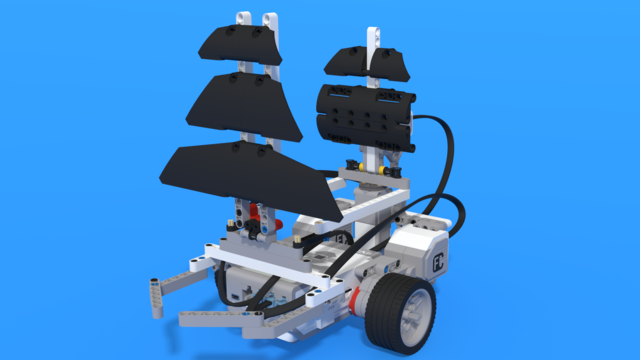 Image for Yolanda - LEGO Mindstorms EV3 Sailship robot