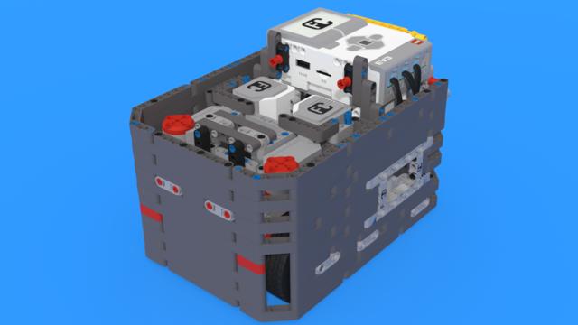 Image for Brazilian Son - LEGO Mindstorms EV3 robot following the Box Robot Principle.