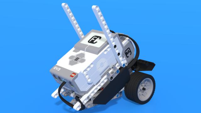 Image for Коди, баркод-четец, построен с LEGO Mindstorms EV3