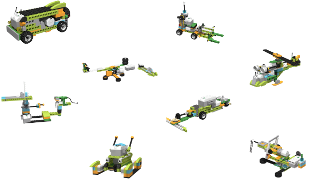 Image for Robotics introduction with LEGO WeDo 2.0