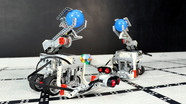 LEGO Mindstorms Volleyball EV3 Robots