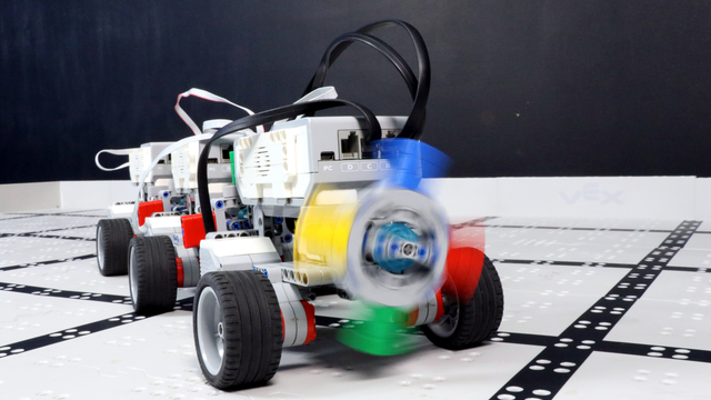 Telephone Game FLLCasts with LEGO Mindstorms EV3 Robots